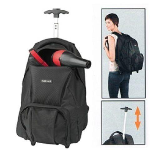 SIBEL Backpack with wheels & telescopic handle by Sibel. SIBEL Backpack with wheels & telescopic handle.