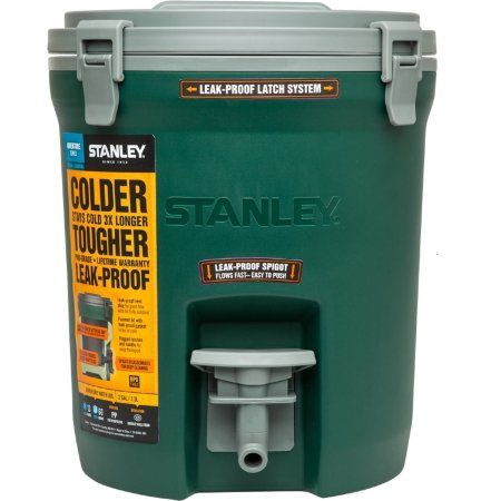 Stanley Adventure 2 Gallon Water Jug, Green Image 2 of 2