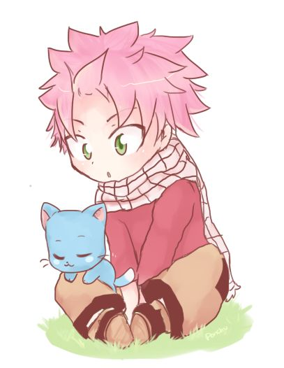 61 best lucy and natsu love images on pinterest fairies - Fairy tail happy and natsu ...
