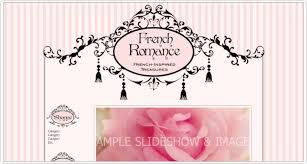 Image result for shabby chic website design templates
