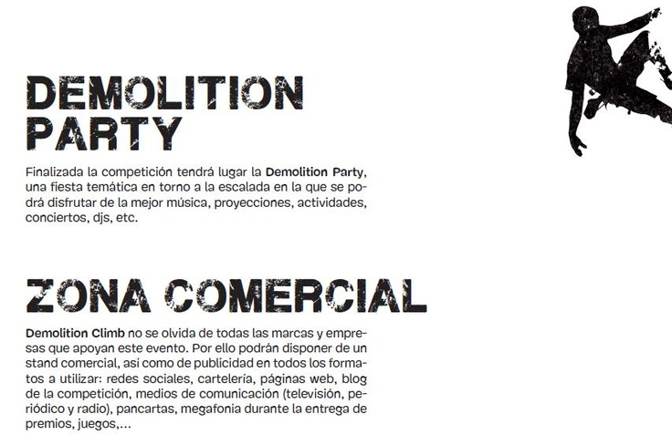 Y por la noche... ¡Demolition Party! http://www.bierzonatura.es