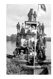 Steamboat on the Fraser River