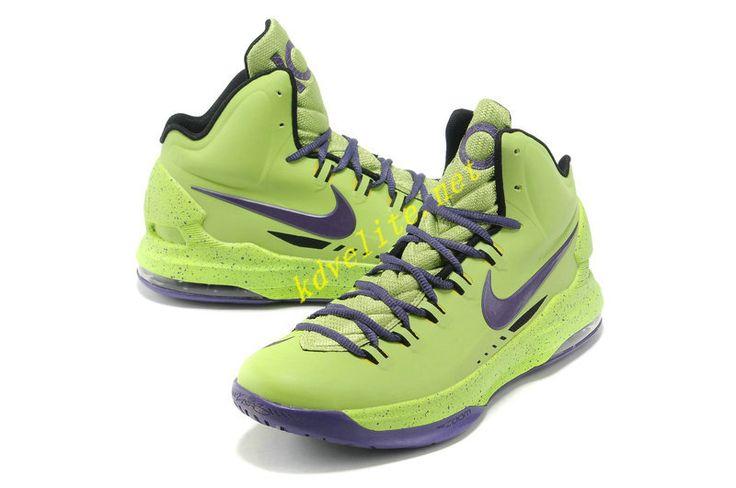 Electronic Green Club Purple Nike Zoom KD V 554988 305