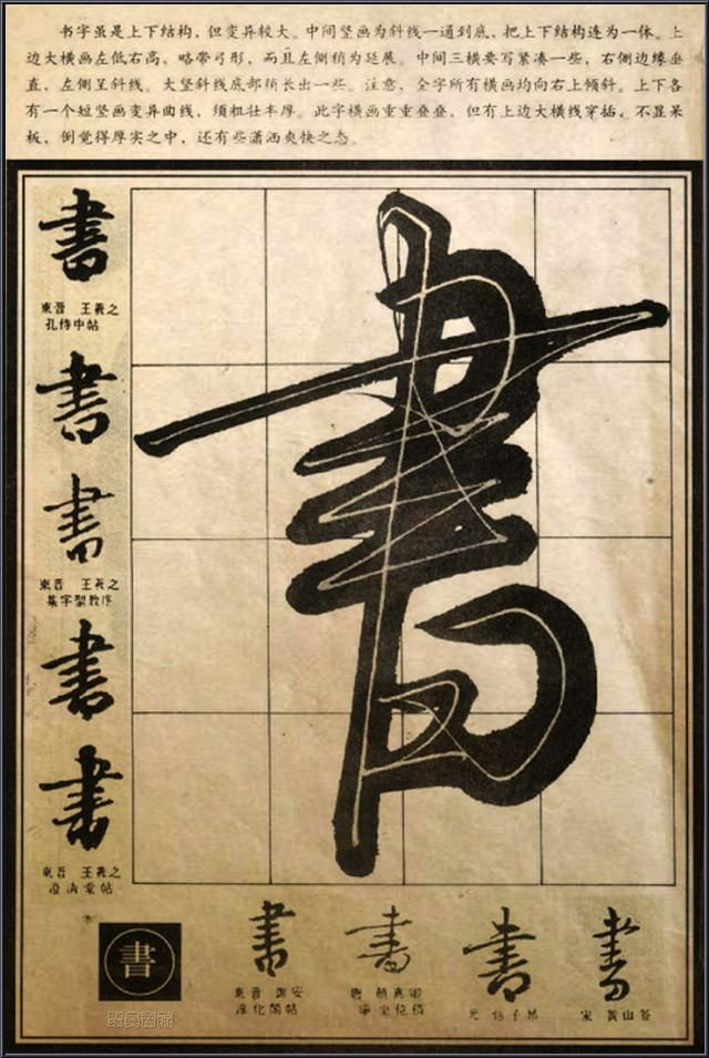 行草筆法·經典解析【書】