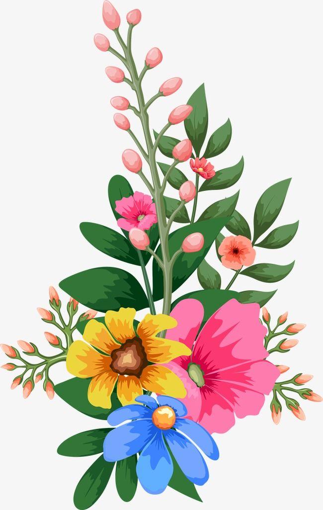 Watercolor Flowers Spring Flower Art Flower Illustration Flower Drawing Design