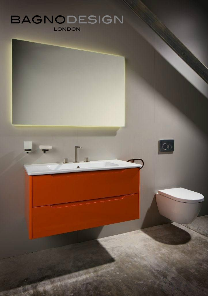 bathroom cabinet online design tool%0A Urban collection by BAGNODESIGN  featuring softened cubic lines that are a  major trend in modern bathroom design