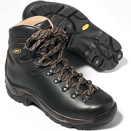 Asolo boots: another camping/hiking essential! These are THE best boots and can be re-soled (despite what the gear store says!).