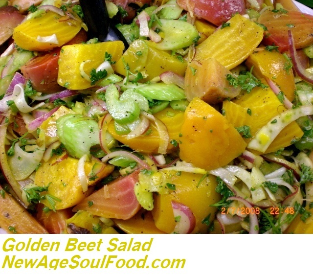 Golden Purple Potato Salad Recipe — Dishmaps