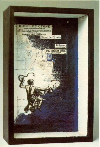 Untitled (Hotel du Cygne) - Joseph Cornell, 1955