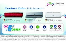 Get the latest Godrej Air Conditioner price list in India and compare the Godrej Air Conditioner across e-commerce store to get the best deal purchase Godrej Air Conditioner in Indian store.