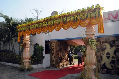 Entrance Decor