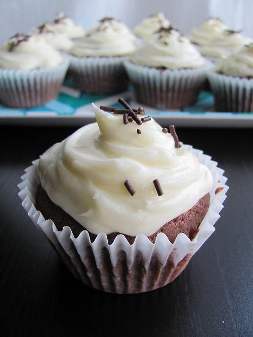Cupcakes au chocolat_Mes tergiversations
