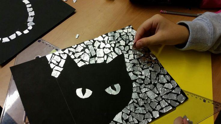 Mosaico...carta stagnola 2^D