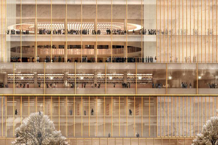 In Detail: Chipperfield's Nobel Centre for Stockholm