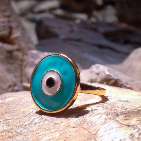 Eye Ring by Demetrios Collezioni! One of a kind!