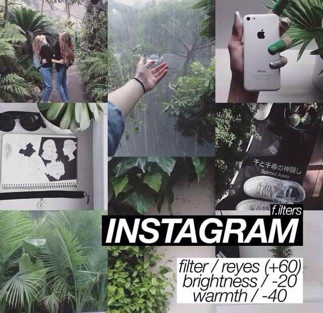 Instagram filter.