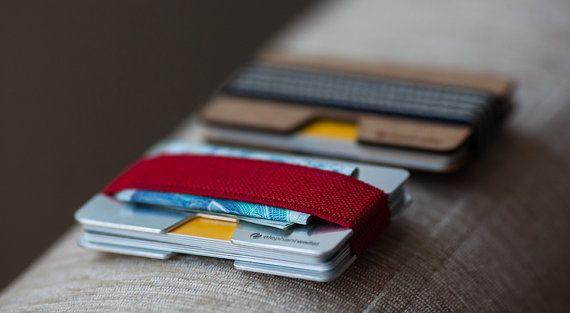 Vordere Tasche Wallet Kreditkarteninhaber Männer von ElephantWallet