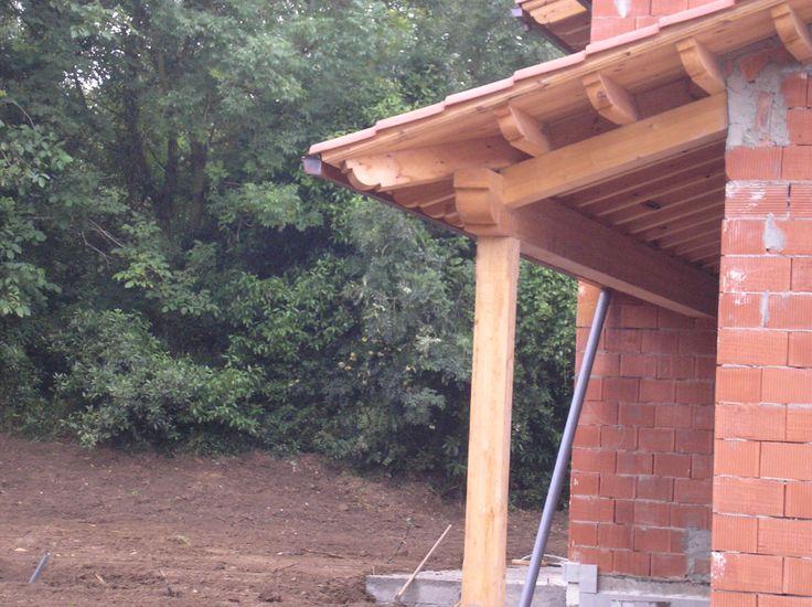 20 best images about tejados cubiertas y aleros de madera for Tejados de madera para exterior