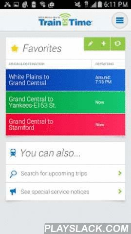 Metro-North Train Time  Android App - playslack.com , The Official Metro-North app including real-time train status and track information, trip schedules, fares and detailed station information.Features include:- Access real-time trip information directly from Metro-North including train status, track number, and the latest service notices- Save favorite trips for one click access to daily schedules, status and track number- Get schedules that update in real-time — no need to download new…
