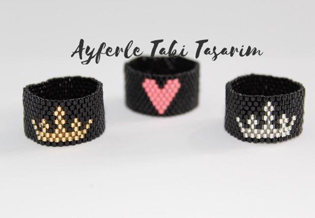 @hilalkra @ecemflk @ayferletaki #ayferletakitasarim #ring #kalp #queen #amor #miyuki #yüzük #jewellery #desing #🇹🇷