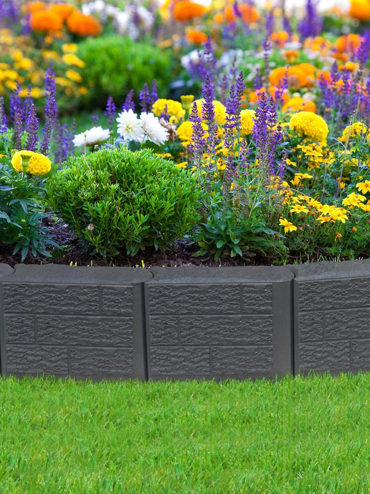 17 best ideas about metal lawn edging on pinterest metal - Plastic border for garden ...