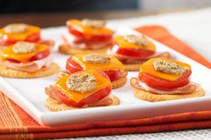 Open-Face Turkey Cheddar Melts recipe #kraftrecipes