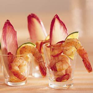 Recept - Knoflook-chiligarnalen in kleine glaasjes - Allerhande