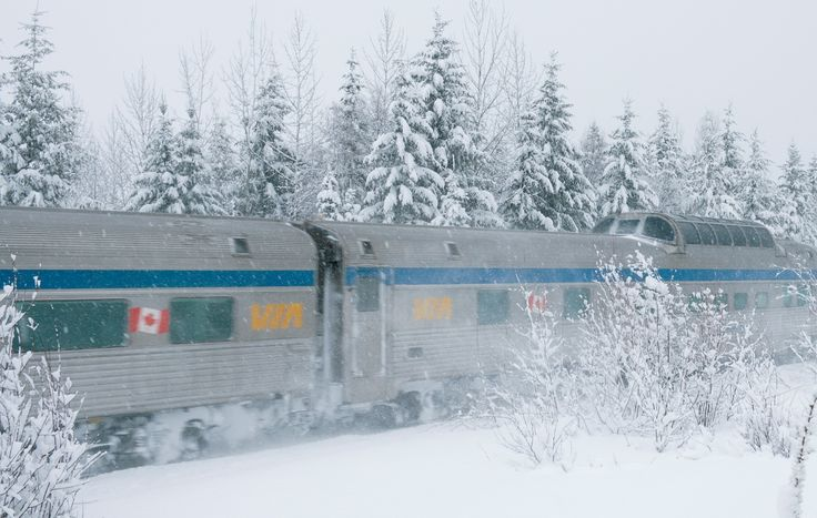 Experience the #Fun of Canadian Winter aboard our train, The Canadian. #VIARail