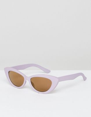 ae856ca63e ASOS Small Pointy Cat Eye Sunglasses