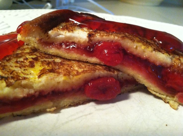 Cherry Pie Filling French Toast | Simply Southern Eats