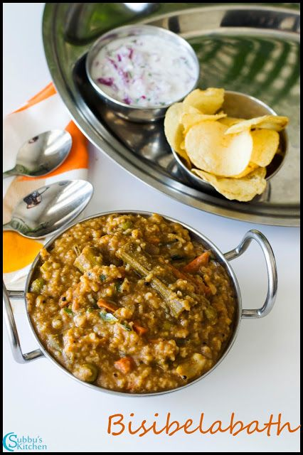 The 115 best karnataka recipes images on pinterest indian recipes bisibelabath very popular rice variety in karnataka and also in other states in south india forumfinder Choice Image