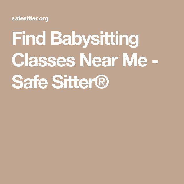 Find Babysitting Classes Near Me - Safe Sitter®