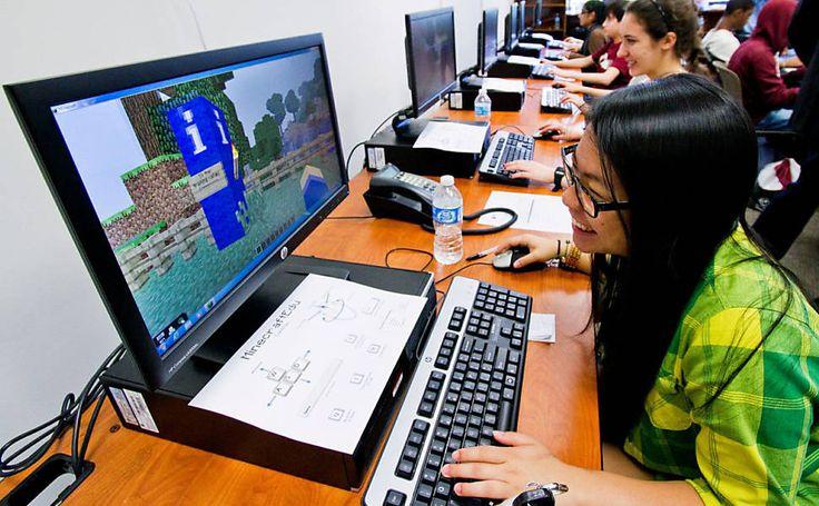 Minecraft educativo já está em sala de aula