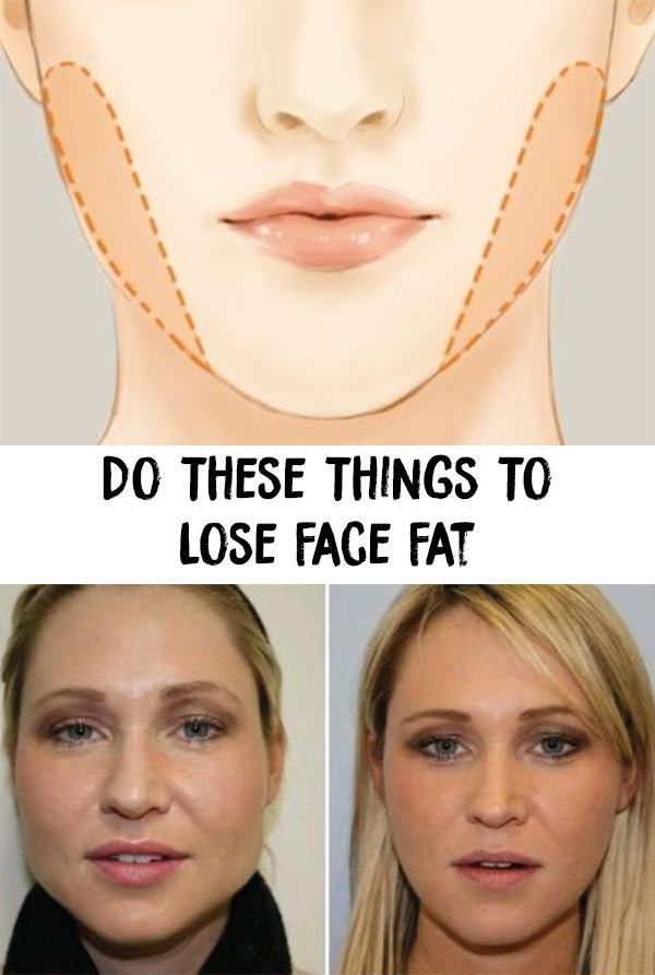 whats the best way to lose weight in the face