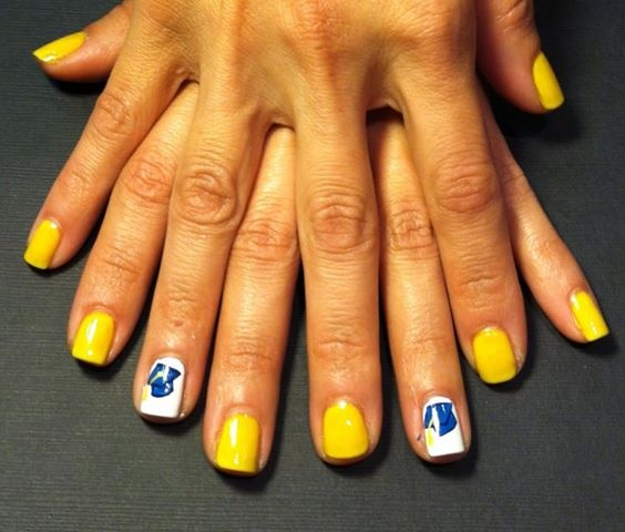 Nail Ideas For Graduation: 26 Best Graduation Nails Images On Pinterest
