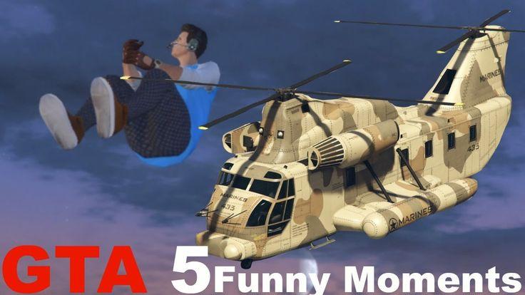 GTA 5 Glitches Online Funny Moments