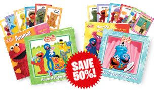 I just got a great deal on Elmo books.