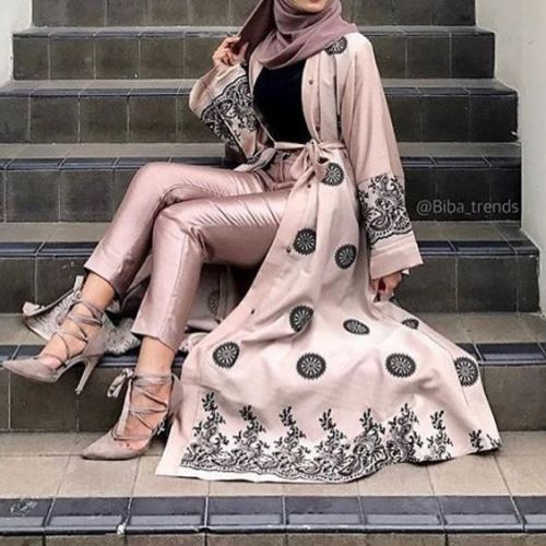 How to style your Abaya cardigan for Ramadan – Just Trendy Girls