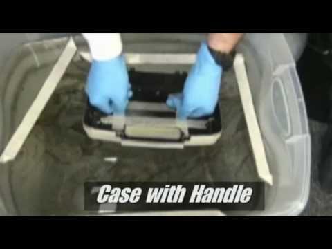DIY Camo Dip Kit - At home Hydro Camo Dipping, via YouTube.