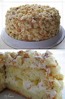 Весенний торт «Мимоза» - все гениальное просто.