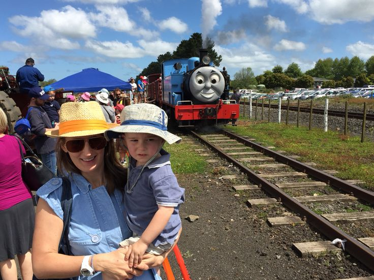 Thomas the Tank Engine day out at the Glenbrook Railway in Auckland, New Zealand.