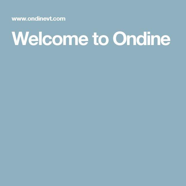Welcome to Ondine