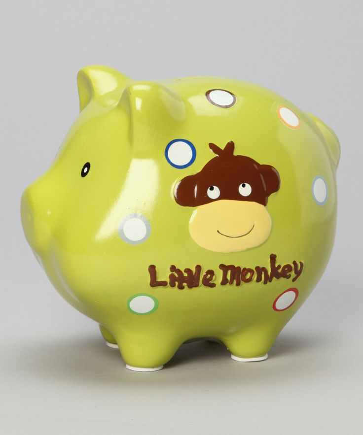 Teach Little Ones The Importance Of Saving At A Young Age With This Precious Piggy Bank Sporting Fun Friendly Design Cuties Will Find Themselves