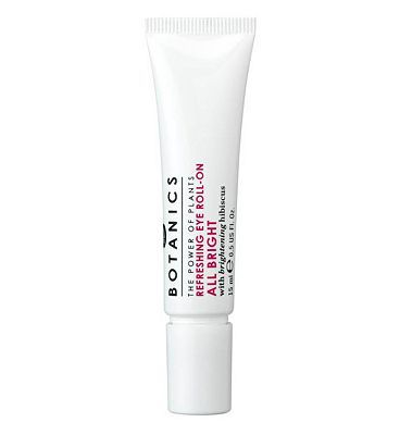 Botanics All Bright Refreshing Eye Roll-On 15ml 8 Advantage card points. Botanics All Bright Eye Roll-On targets the appearance of dark circles and eye puffiness. With brightening hibiscus, natures brightness booster, it is suitable for all skin ty http://www.MightGet.com/april-2017-1/botanics-all-bright-refreshing-eye-roll-on-15ml.asp