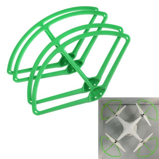 4PCS Green For DJI Phantom 2 Vision Propeller Prop Protector Guard Bumper #LD789