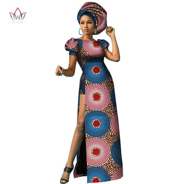 97fe44c6dea6b 2018 African dresses for women dashiki ankara wax print batik pure ...