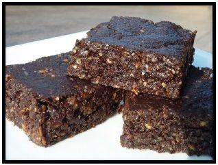 Gluten-Free No Bake Brownies | Low GI Meals