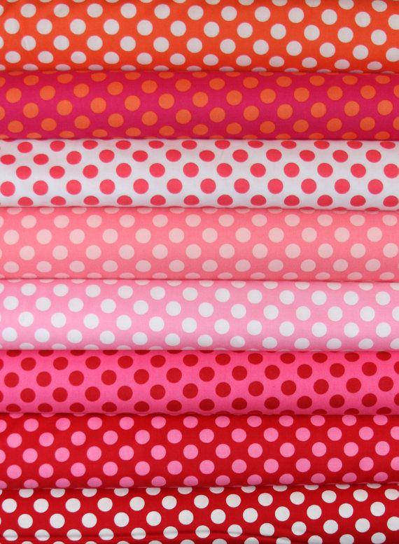 Ta Dot Polka Dot Fabric Bundle by Michael Miller