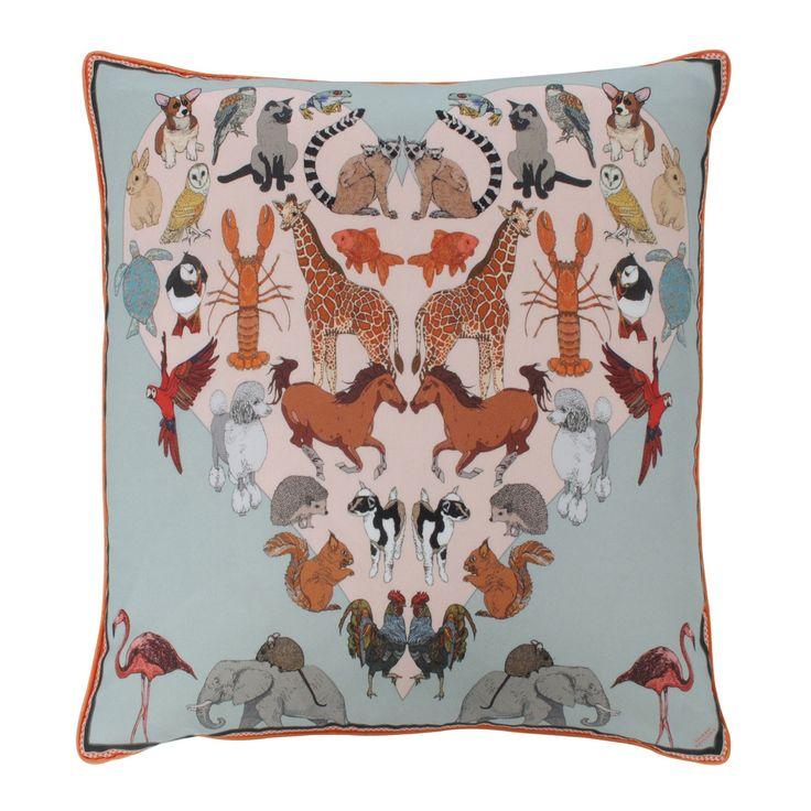 Silken Favours Marvelous Menagerie Cushion