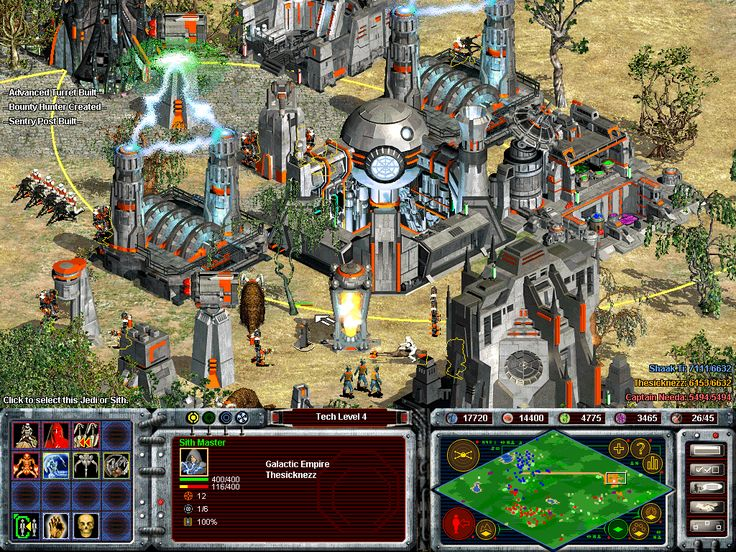 Star Wars Galactic Battlegrounds contre-attaque
